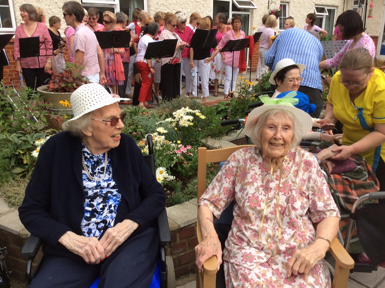 The flowerdown garden party flowerdown care home winchester Home and garden party