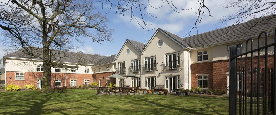 Hall Park Care Home Bulwell Nottinghamshire Residential