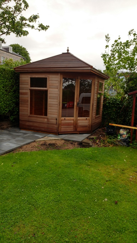 Summerhouse Final Completion
