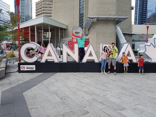 Gwen's son sent her photos from Canada via the new Magic Moments Club App