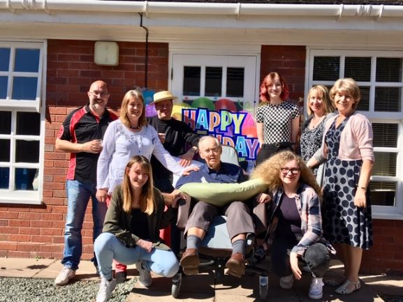 Springfield House bring joy with family party for Bill