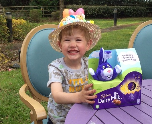 The Cedars Care Home, Salisbury-Our young winner of the Easter Bonnet competition