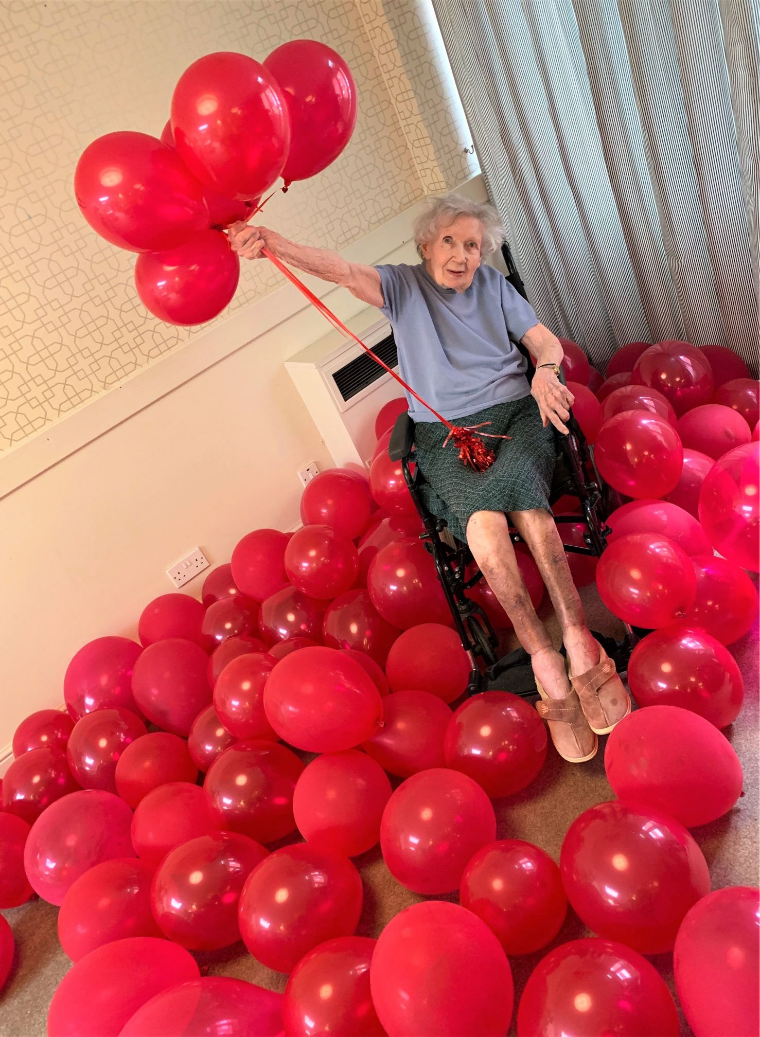 Charlotte House Care Home, The Wirral-Happy 99th birthday to Phyllis