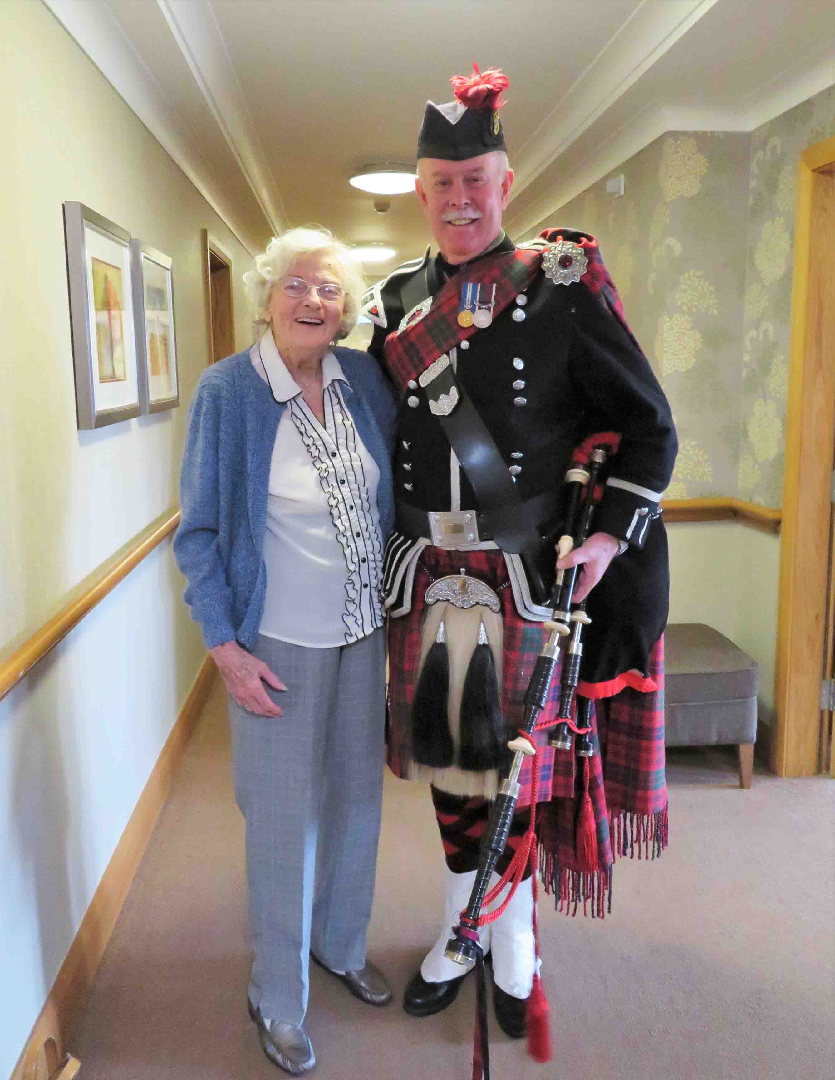 Brighterkind Care Homes celebrate Burns Night in style!
