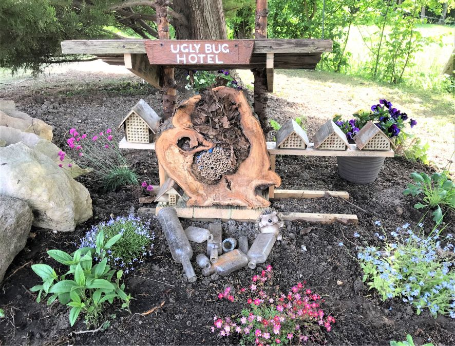 Hempton Field Care Home, Chinnor-Our Ugly Bug Hotel is 5 star and a thing of beauty!