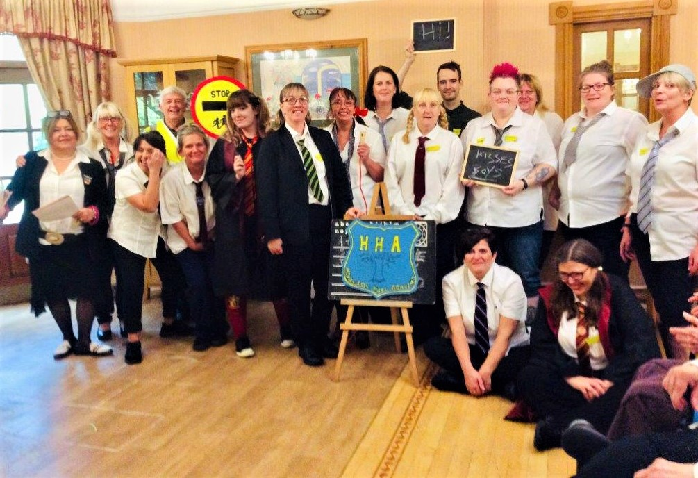 Henleigh Hall Care Home, Sheffield-Team Henleigh Hall going back to school!