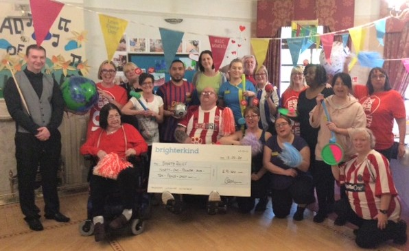 Henleigh Hall Care Home, Sheffield-Team Henleigh Hall fundraising for Sport Relief