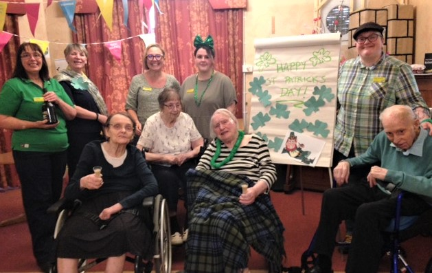 Henleigh Hall Care Home, Sheffield-Wishing you all a happy St. Patrick's Day