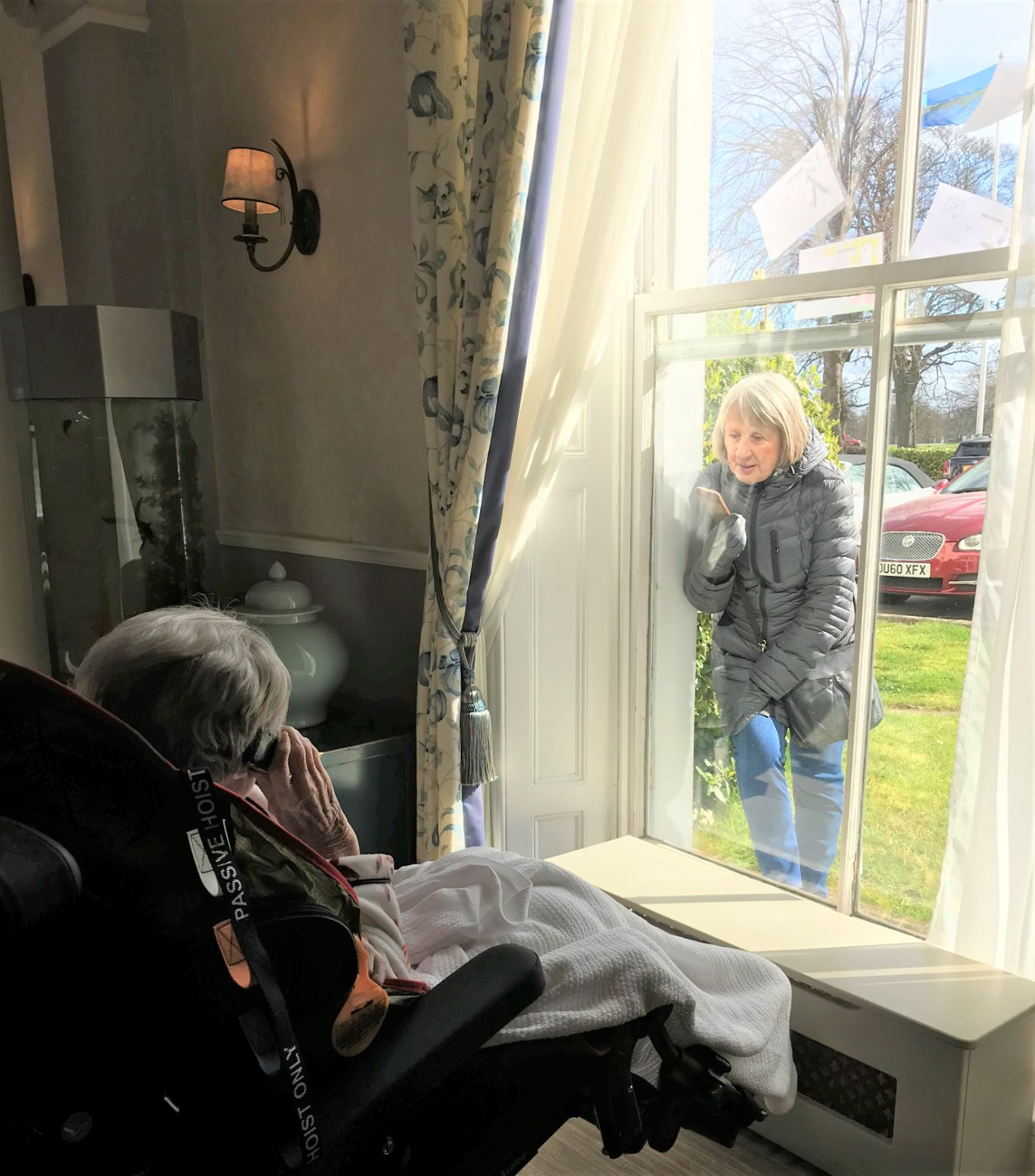 The Granby Care Home having a different type of visit