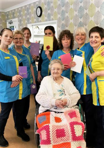 Wheaton Aston Court in Staffordshire celebrate Carers Week 2019