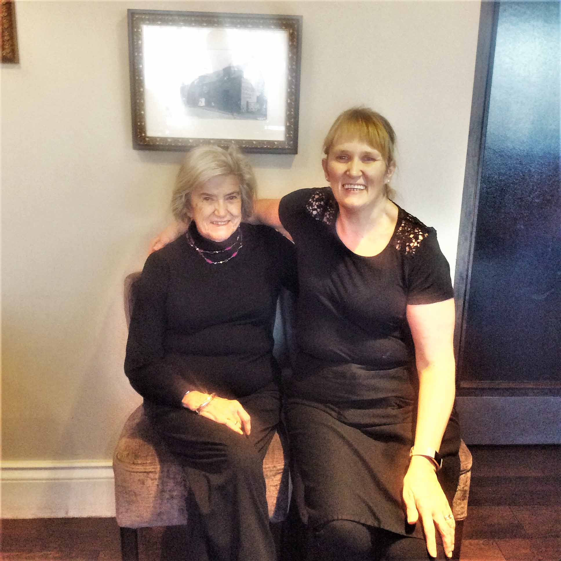 Lesley's surprise reunion with an old friend with Hallhouse Care Home