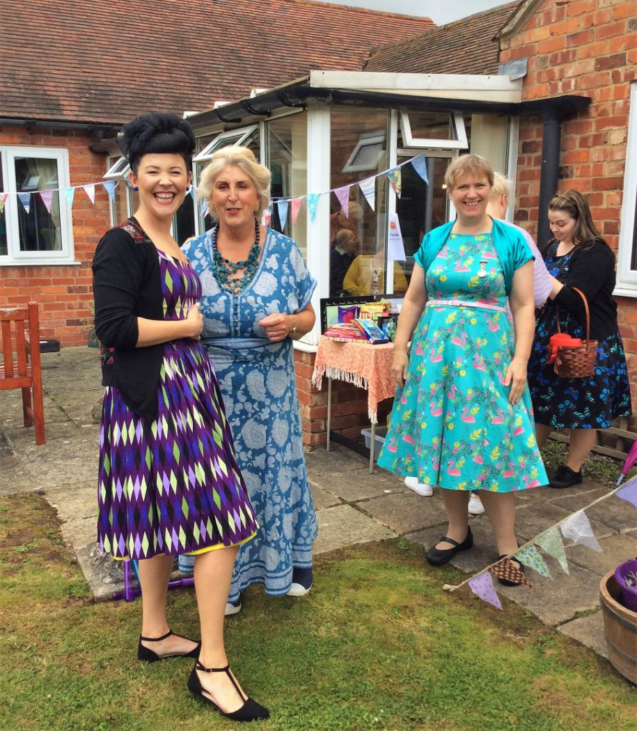 Tewkesbury Fields Care Home in Gloucestershire held their own MIdsummer Vintage Festival