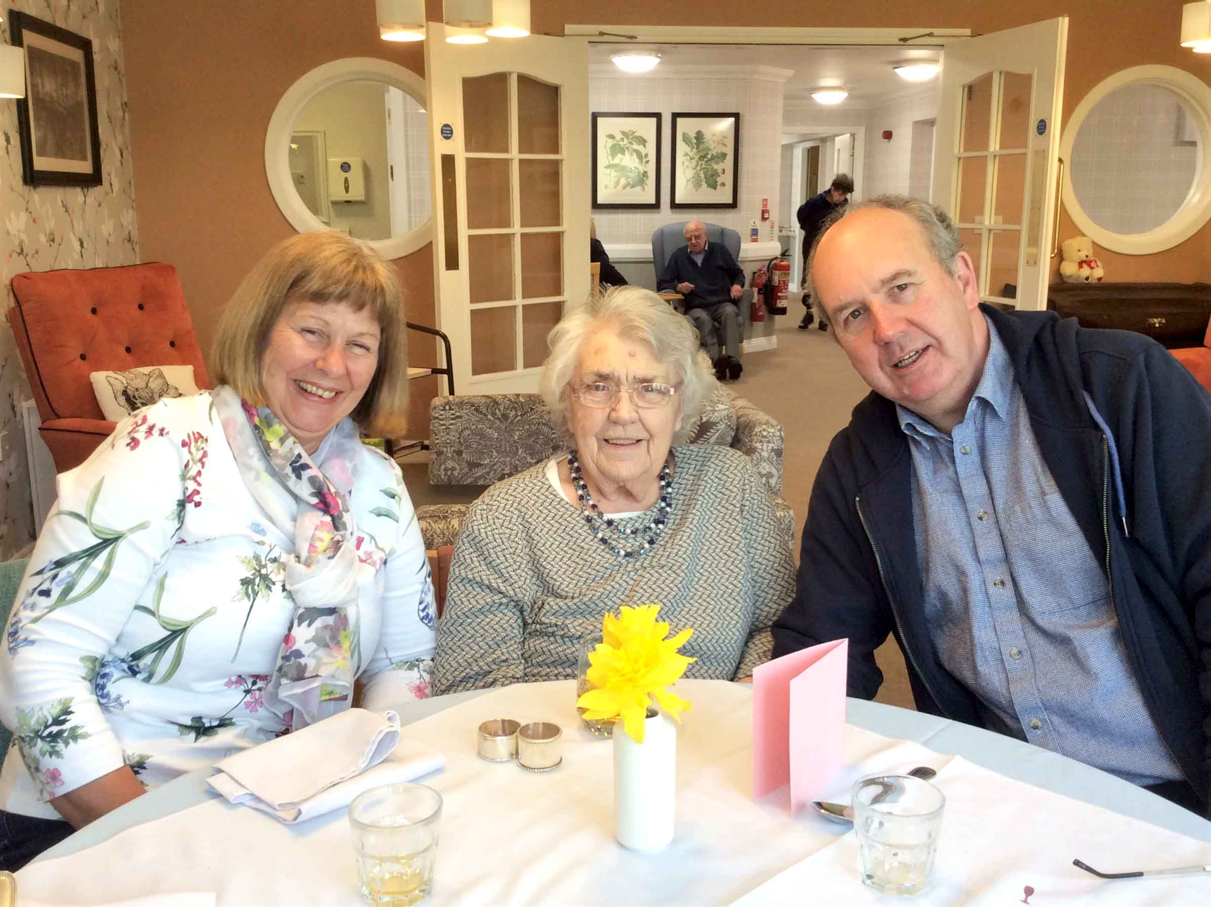 A Mother's Day to remember at The Cedars Care Home in Salisbury