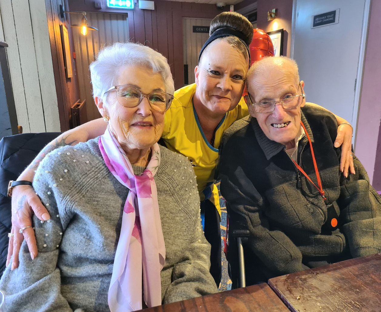 Ivybank House Care Home in Bath help Ken and Barbara celebrate their 66th anniversary