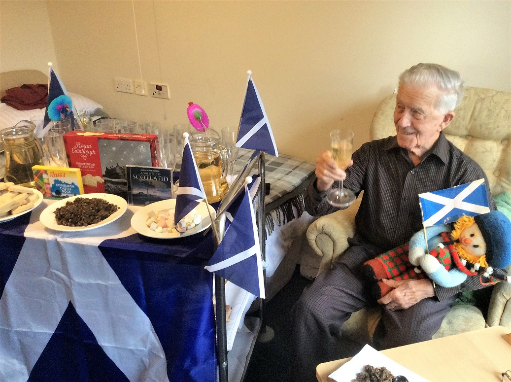 Angus raises a glass to all things Scottish