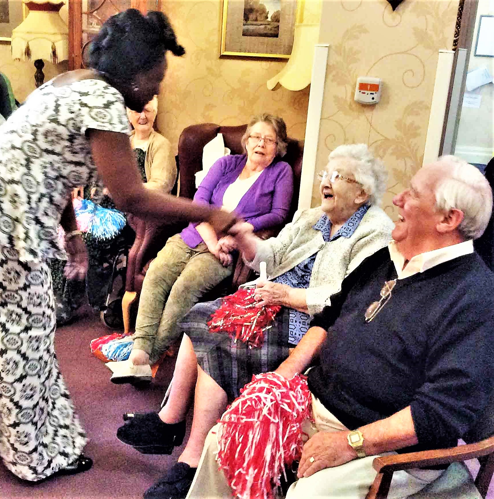 The Branksome Care Home are joined by special guests for their Wow Factor event!