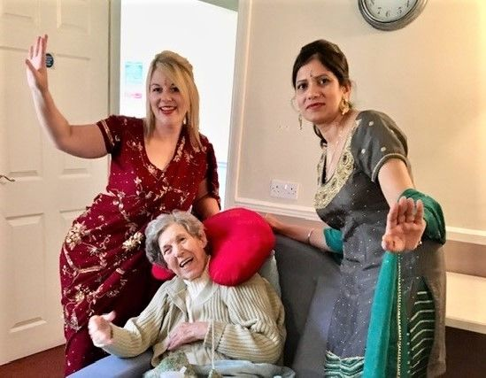 Springfield House Care Home in Codsall celebrate Diwali!