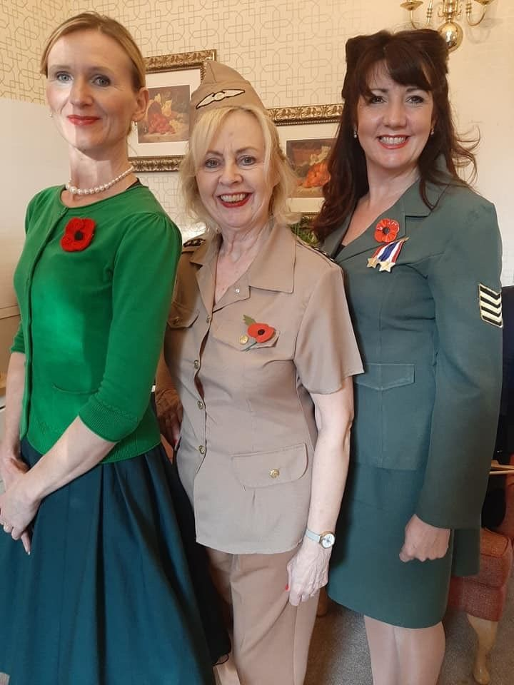Ross Court Care Home in Herefordshire held a special Remembrance Sunday event