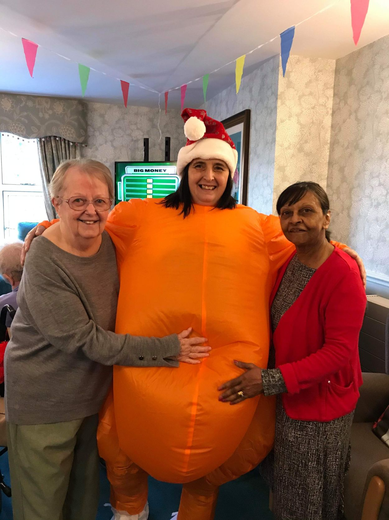 Ivybank House Care Home in Bath celebrate the festive season
