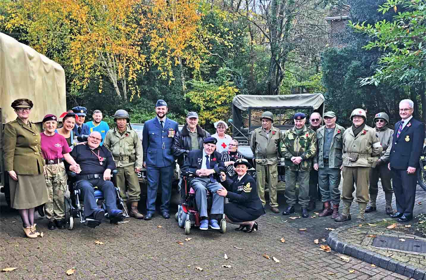 Meyrick Rise throw a Veterans Day Party