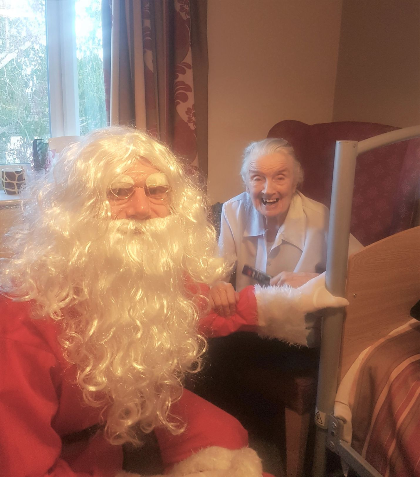 Ashbourne Court Care Home in Hampshire have a festive celebration