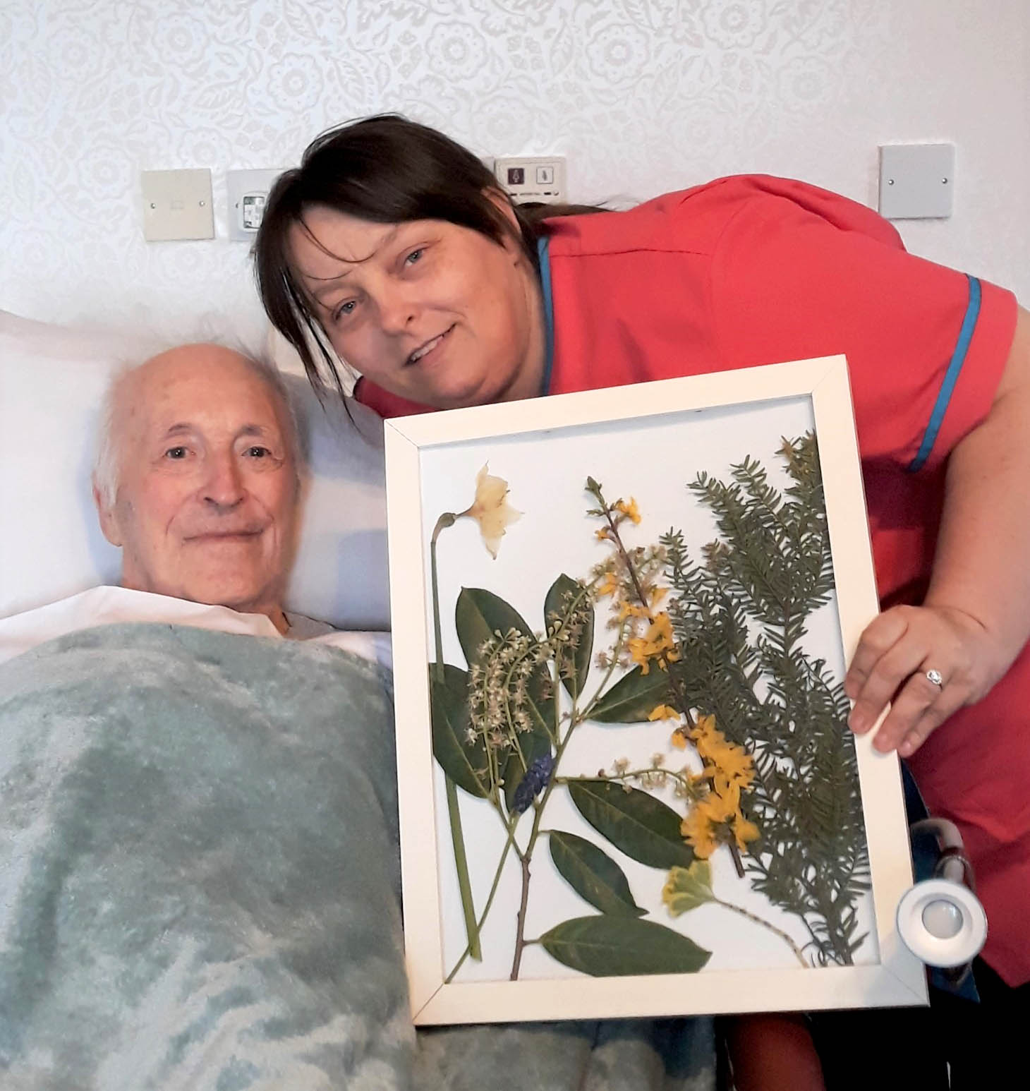Residents at Woodbury House are getting closer to nature with 'season frames'