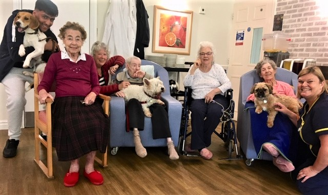 Springfield House Care Home, Codsall-Residents, team members and the stars of our show!