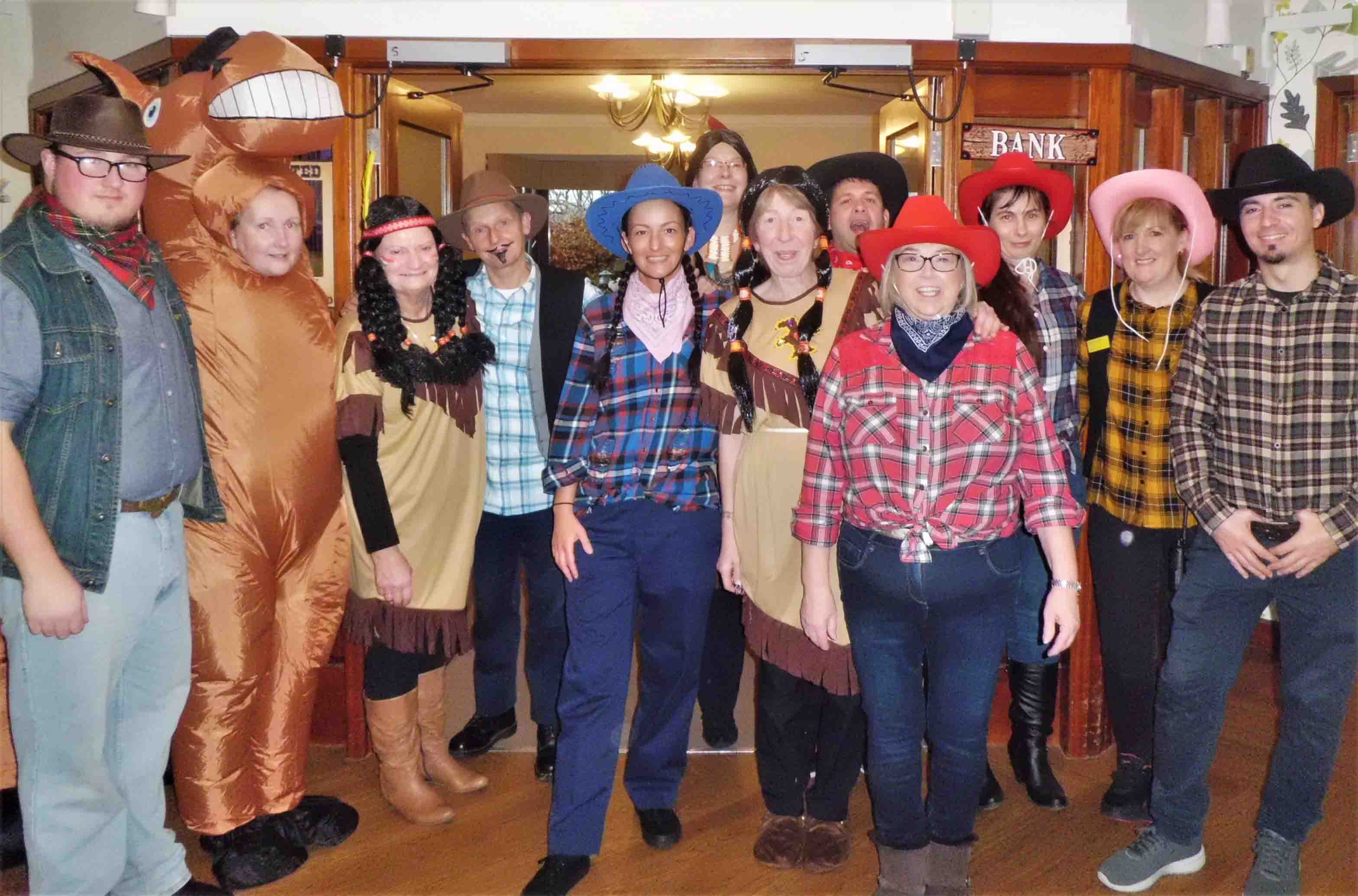 A day in the Wild, Wild West for Garioch Care Home!