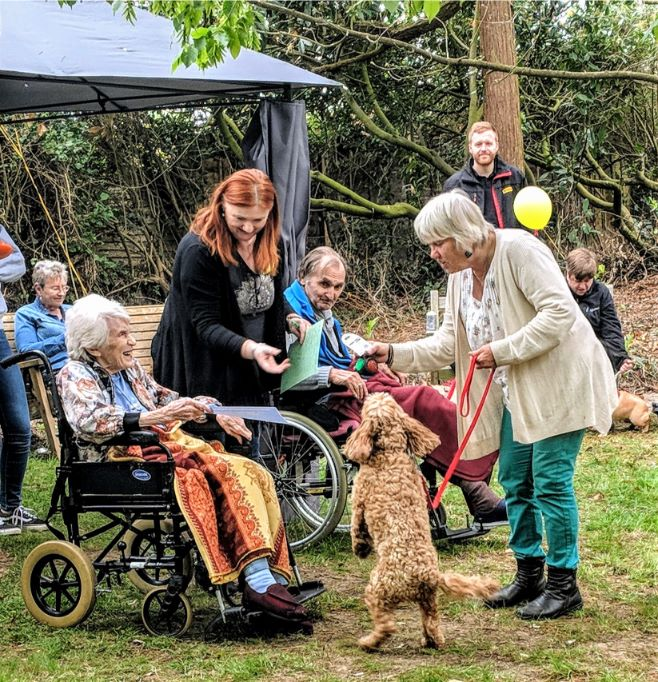 The Berkshire Care Home, Wokingham holds their own dog show