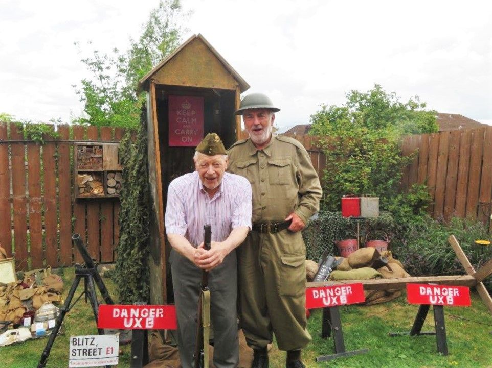 Westbury Court Care Home hold their own 'step back in time festival'