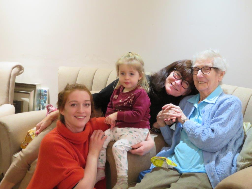 Westbury Court Care Home in Bath grant a wish for Lois