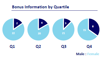 Bonus Information by Quartile