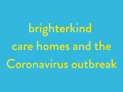 brighterkind and the Coronavirus outbreak