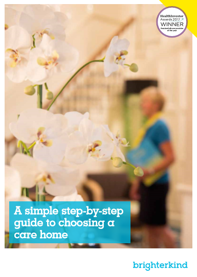 Choosing Care Guide Cover