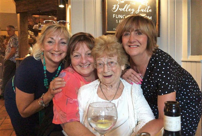 Resident's birthday outing at Broadway Halls Care Home in Dudley