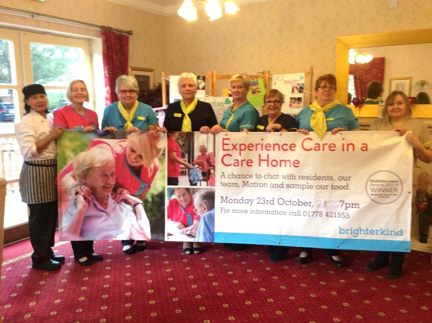 The Cedars Care Home discuss 'experiencing care in a care home'