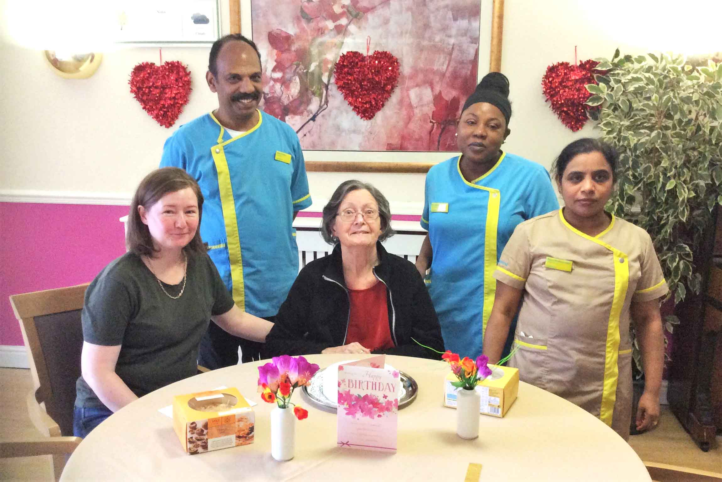 resident at Uplands Care Home in Streatham
