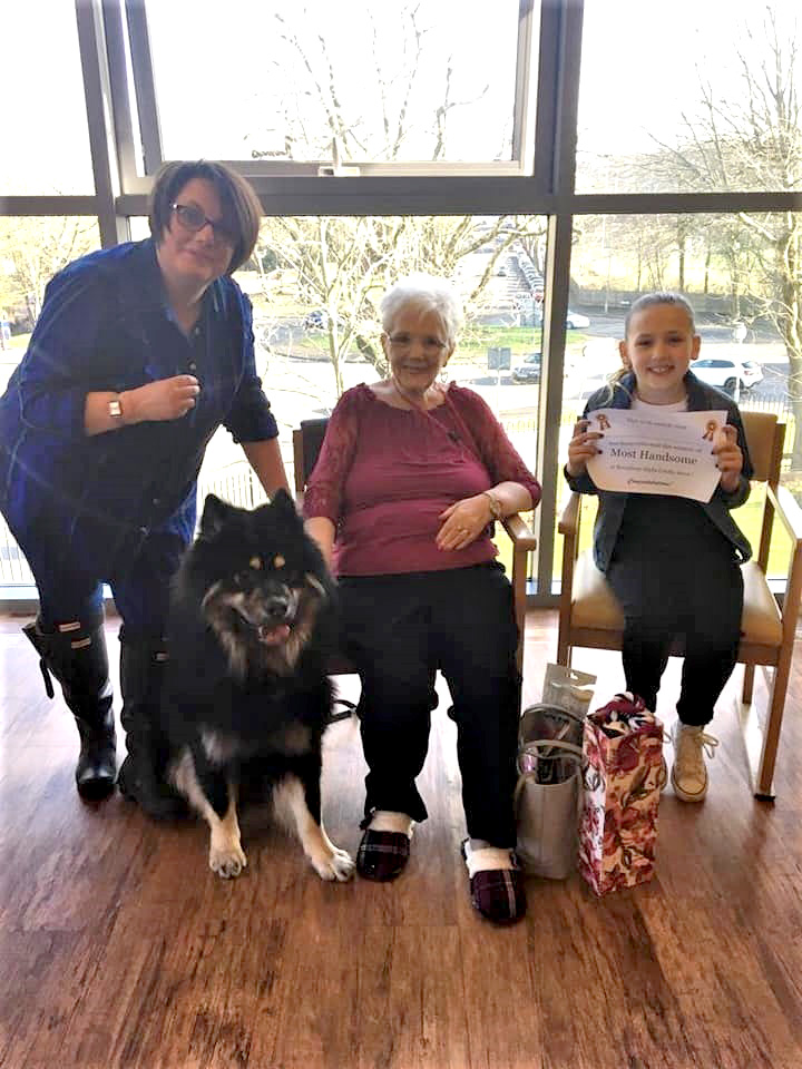 Broadway Halls Care Home in Dudley celebrates 'love your pet day' with dog visit