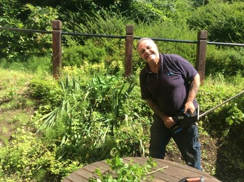 Enjoying time well spent in the garden
