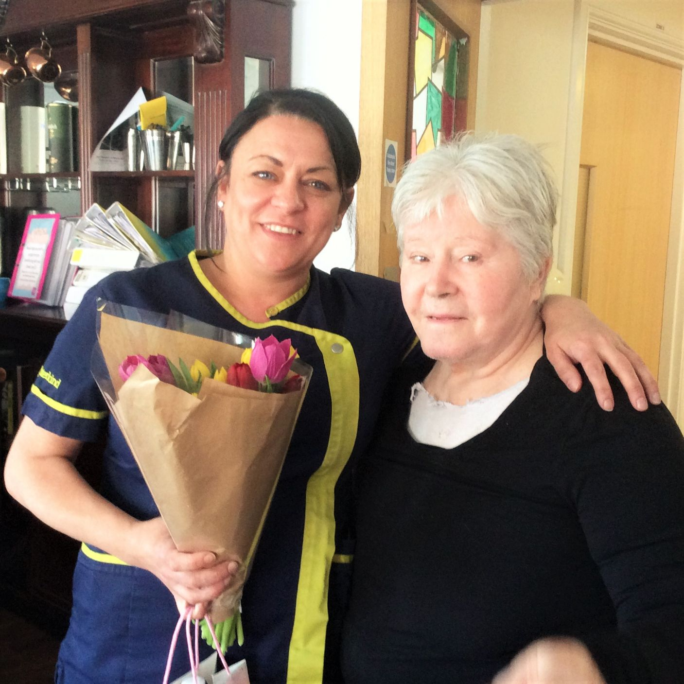 Residents at Lawton Rise say thank you for International Nurses Day