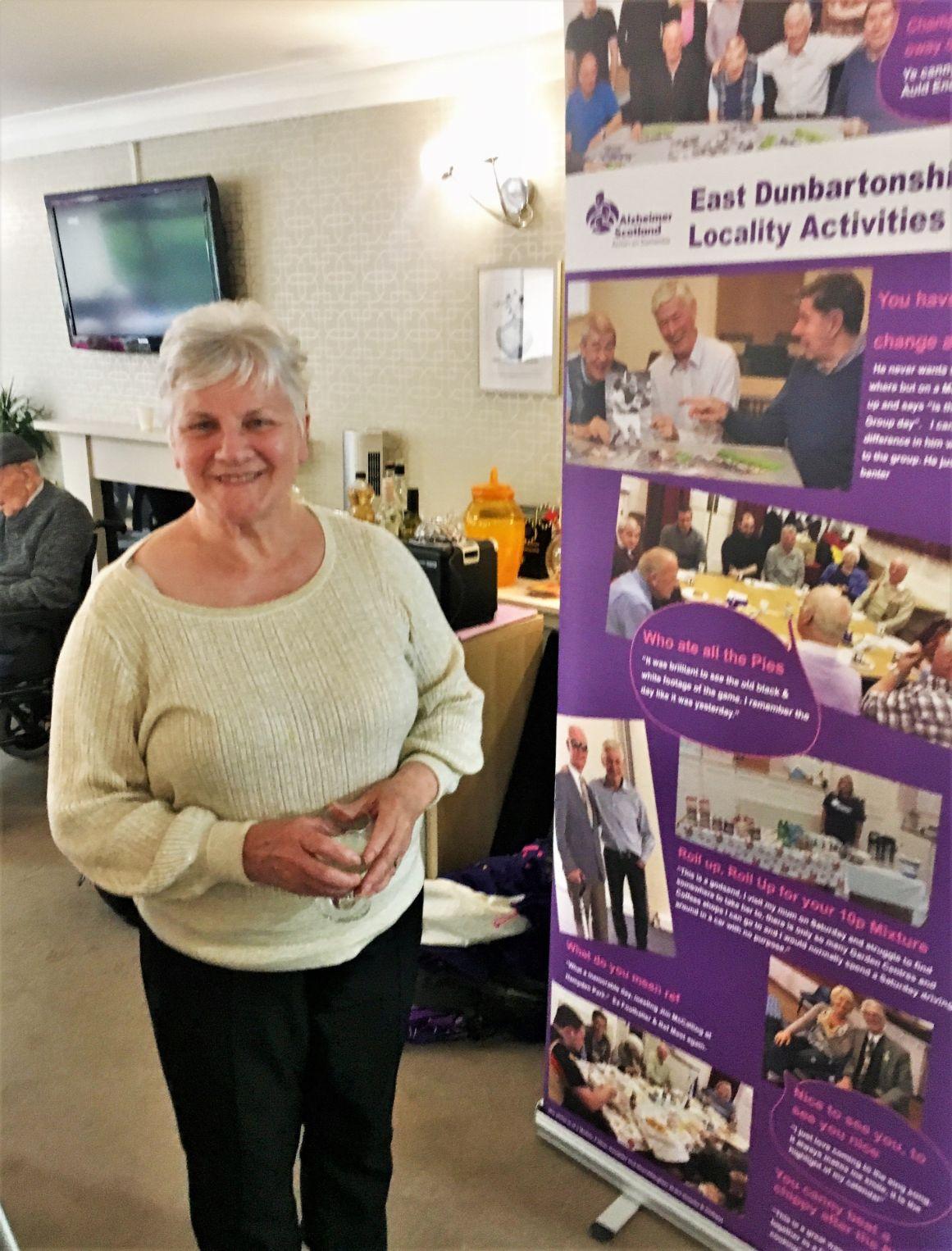 Residents at Buchanan House Care Home in Bearsden take part in karaoke for Dementia Awareness Week Scotland