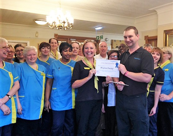 Henleigh Hall care home in Sheffield team member celebrates 15 years of service