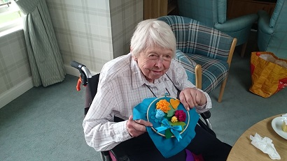 Sewing Club at St Margaret's Care Home