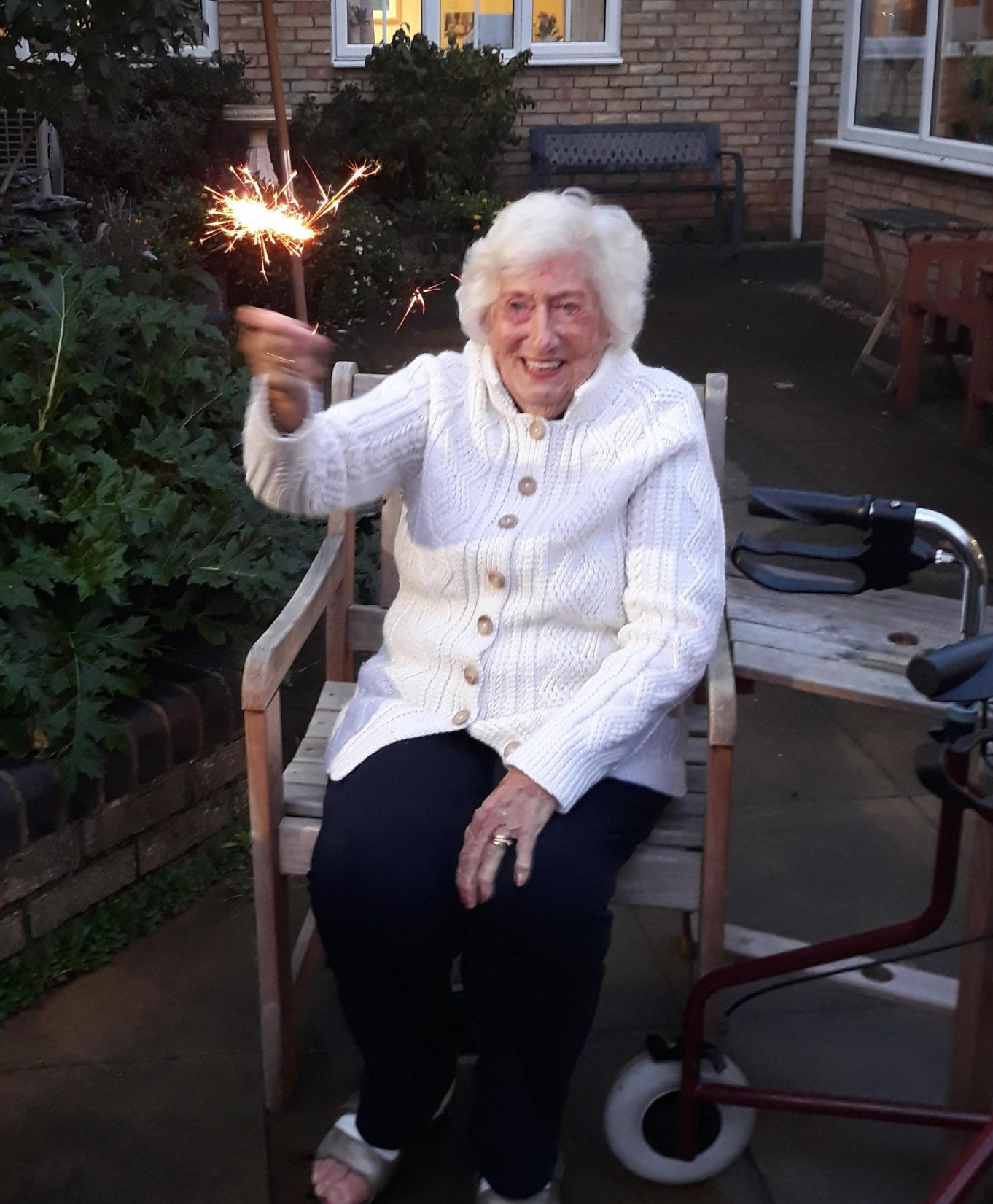 Highfield Care Home in Ware celebrate Guy Fawkes Night