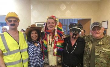 'The Killage People'  - Activities Coordinator Sandie Flinn, Kitchen Assistant Simon Brabbin, Senior Carers Tracey Bowker and John Mclean and Carer Jamie Dizon