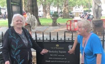 Margaret and Deb at Berkeley Square
