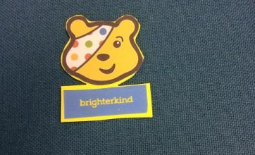 Pudsey badges