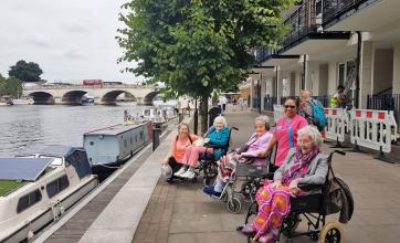 Residents and team at Kingston Care Home have a day out exploring Kingston-upon-Thames