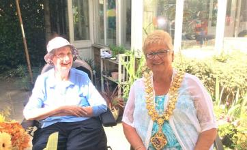Residents, team and families at The Berkshire Care Home in Wokingham take part in National Care Home Open Day