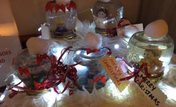 The Lawns Care Home in Leicestershire getting creative and Christmassy